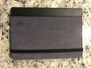 100 Belkin Kindle Fire Hd 7 Tablet Chambray Cover/case Kickstand Blacktop/gray