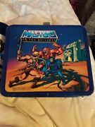 1983 Masters Of The Universe Lunchbox W Thermos As Seen Joe Soucy Collection