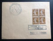 1940 Czechoslovakia Army Post Office In France Censored Cover
