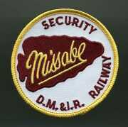 Vintage D.m.and I.r. Duluth Missabe And Iron Range Railway Security Patch Railroad