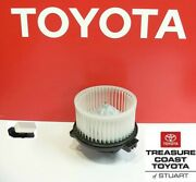New Oem Toyota Tundra 2000-2006 Double Cab Factory Blower Motor And Resister