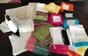Linen Blanks Lot 90+ Items- Table Runners,towels, Napkins, Handkerchiefs And More