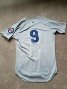 2012 Beloit Snappers Eddie Rosario 9 Game Used Road Jersey Size 46 Twins Star