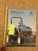 New Holland Boomer Compact Tractors Tc18 - Tc45 Advertising Magazine 31 Pages