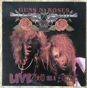 Guns N' Roses Live Like A Suicide Lp The Board Is Shiny The Jacket Is Average