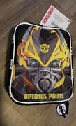 Collectible Transformers Bumblebee Lunchbox Optimus Prime Rare Error Mistake
