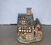 Vintage David Winter The Bakehouse Hand Made Hand Painted Figurine 1982 Britain