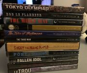 Criterion Collection Dvds Out-of-print Rare Collectible Mint Condition