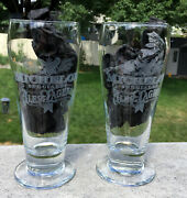 2 Michelob Special Ale And Lagers Beer Glasses New 12 Oz
