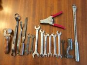 Vintage Craftsman And Nicholson Made In Usa Tools Assortment Pipe Cutter File