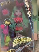 Monster High Electrified Monstrous Hair Ghouls Twyla Doll W/6 Accessories Age 6+