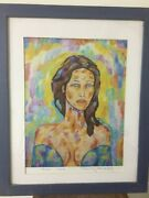 Ancient Greek Muse Erato Tonis Maniatis -2005- Great Investment