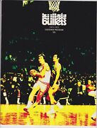 1971/72 Baltimore Bullets Vs Houston Rockets Program Unscored Jack Marin Cover