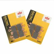 Sbs 788 Rs Sintered Motorcycle Fast Road Track Day Front Brake Pads Pair