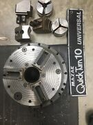 1985 Quick Turn 10 Universal Air Chuck And Jaws Great Condition 3500 Obo