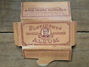 Vintage Presidents Chewing Gum Pocket History Album Very Good Condition