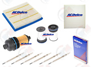 Acdelco Tune Up Kit W/ Glow Plugs For 15-16 Chevrolet Colorado Gmc Canyon Diesel