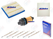 Tune Up Kit Acdelco W/ Glow Plugs For 15-16 Chevrolet Colorado Gmc Canyon Diesel