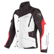 Motorcycle Jacket Dainese Tempest 2 Dry Grey Black Red Size 46 Jacket