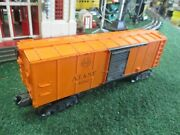 Lionel Postwar X3464 A.t. And S.f. Operating Box Car 1949-52 Excellent Condition