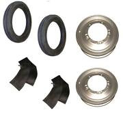 Front Rim And Tire Set Fits Ford 9n 2n Tractor With 4 X 19 Tires