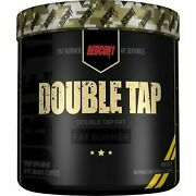 Redcon1 Double Tap Fat Burner Powder Weight Loss 40srv Pick Flavor +free Samples
