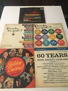 5 Lps Remember How Great... Volume1and2 , Golden Hits Of The 50s Lp Album