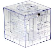 New Magnif Money Maze Puzzle Gift Card Cash Notes Gift Holder Coin Money Box