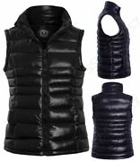 Womens Padded Gilet Bodywarmer Jacket Quilted Waistcoat Plus Size 18 20 22 24