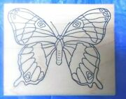Stamp It Butterfly Rubber Stamp G78 Vintage Stamps 1996 Wood Mounted Butterflies