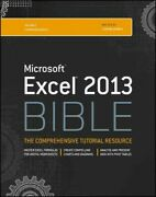Excel 2013 Bible, Paperback By Walkenbach, John, Brand New, Free Pandp In The Uk