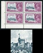 Seychelles Sg131a 1935 Silver Jubilee Variety Extra Flagstaff M/mint
