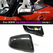 Carbon Fiber Side Mirror Cover For Bmw Z Ser Z4 G29 2019+ Replace Shell Casing