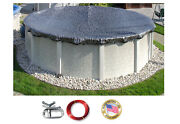 Hpi Enviro Mesh Above Ground Oval Swimming Pool Winter Cover - 8 Yr Wty