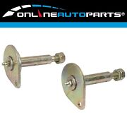 2 X Rear Greasable Leaf Spring Suspension Pins Suits Nissan Navara D21 And D22