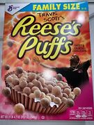 Travis Scott X Reeses Puffs Cereal 100 New Limited Family Box Lmtd Satin Unc