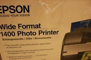 Epson Wide Format Printer 1400 Claria Ink Enlargements Cd's Documents
