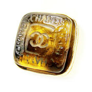 Ring Coco Mark Used Auth T10174