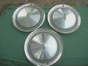 1974-76 Olds Wheel Covers Hub Caps With 98 Emblem. Used Parts Read Ad.