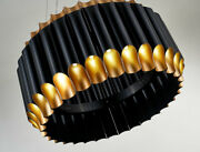 Luxury Led Up And Down Chandelier Black Gold Loft Cafe Hotel Andoslash 50 Or 80 Cm Wow