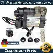 Volvo Xc60 2017-2019 New Air Suspension Compressor And Relay 31360720