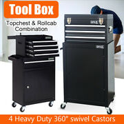 Portable Large Tool Chest Top Tool Cabinet Box Garage Storage Roller Tool Box Uk