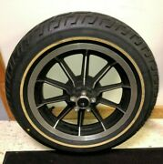 Harley Touring Mag Wheel Tire 16x3 3/4 Axle Flh Touring Bobber Chopper 8322