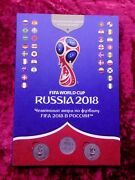 The Official Album Of The Fifa World Cup 2018 Russia 46 Medals Copper-nickel