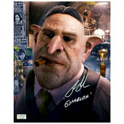 Ron Perlman Autographed Fantastic Beasts And Where To Find Them Gnarlak 8x10 Photo