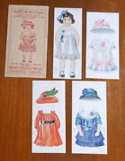 1940and039s The Butter Krust Bread Advertising Doll And Dresses With Original Envelop