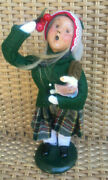 Byers Choice Caroler 1995 Limited Edition The Carolers Girl Holly 50/100 10