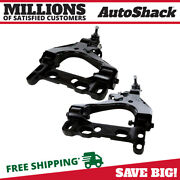 Front Lower Control Arm W/ Ball Joint Pair 2 For Chevy Trailblazer Gmc Envoy Xl