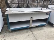 72 6ft Stainless Steel Steam Table 5 Pans 1 Element 220 Volts Single Phase Nsf