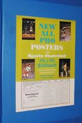Sports Illustrated All Pro Posters Ad 1968-72 Jerry West Willis Reed